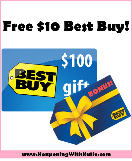 Free $10 Best Buy Gift Card w/Best Buy Gift Card Purchase ...