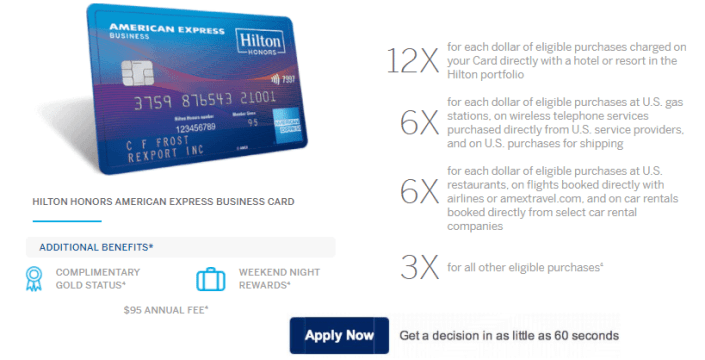 Massive 100000 point hilton honors american express offer american express also has great cash back offers like 10 back on a 50 home improvement purchase 10 back on starbucks purchases 20 back on hello fresh reheart Choice Image