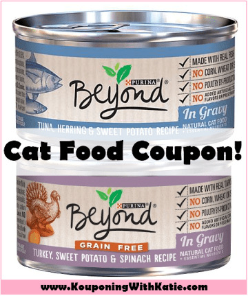 Save On Purina Beyond Canned Cat Food Kouponing With Katie