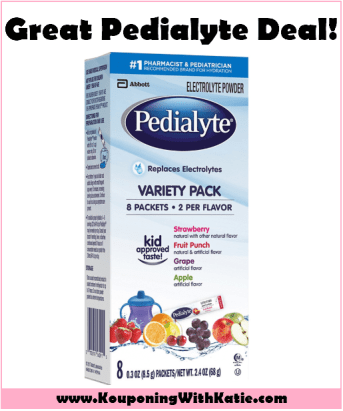 $3 98 Pedialyte Powder Sticks With New Stacking Walmart Deal