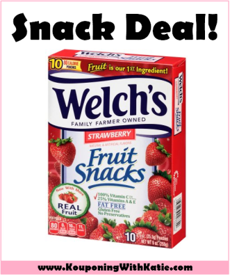 Grab Welch's Fruit Snacks For Just $1 00 At Walmart
