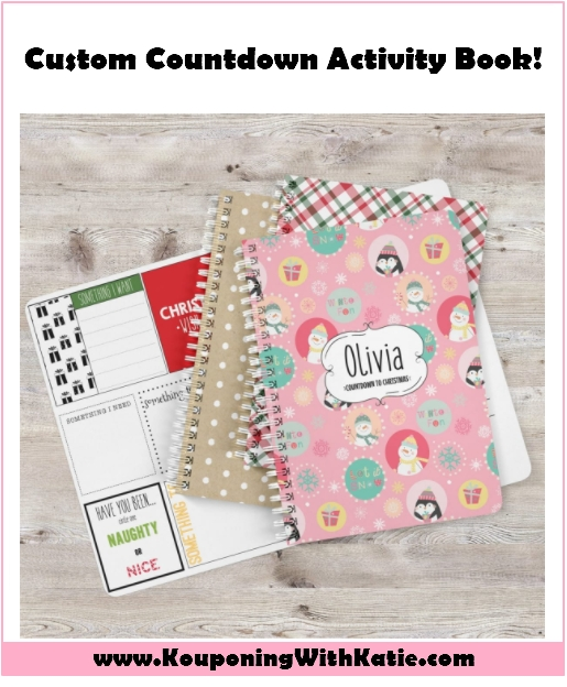 Countdown To Christmas Activity Book 2020 Personalized Countdown to Christmas Activity Book, Just $14.99