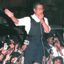 ペルー初の日系大統領であったアルベルト・フジモリ氏