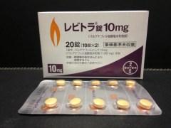 国内正規品 バイエル薬品のレビトラ錠10mg