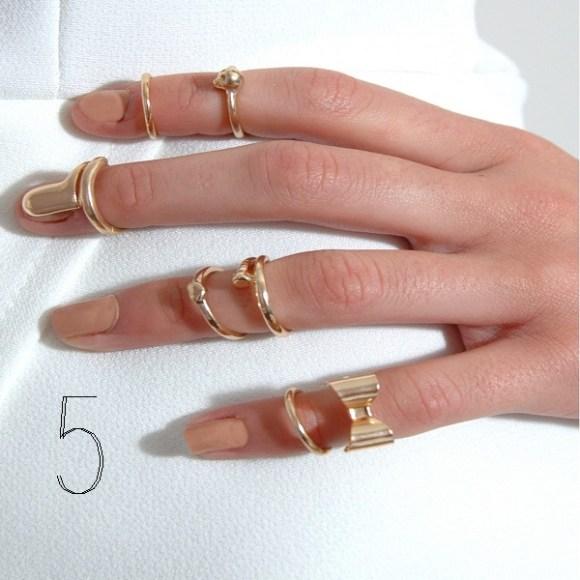 Rare london nail ring
