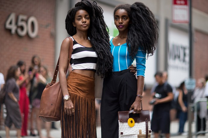 fashion week spring 2016 afros