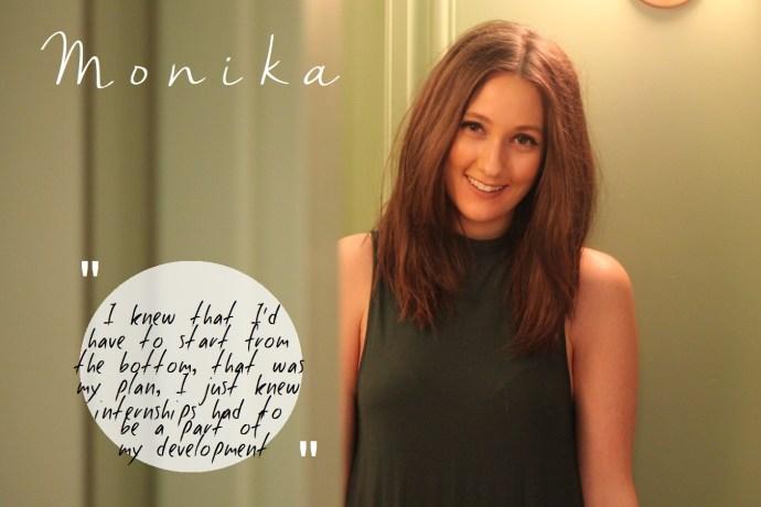 How to survuve a fashion internship Monika edit