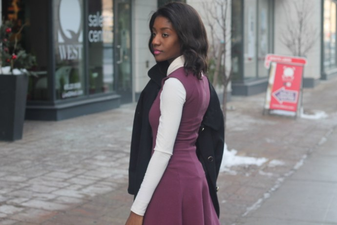 3 tips on wearing a dress in the Winter