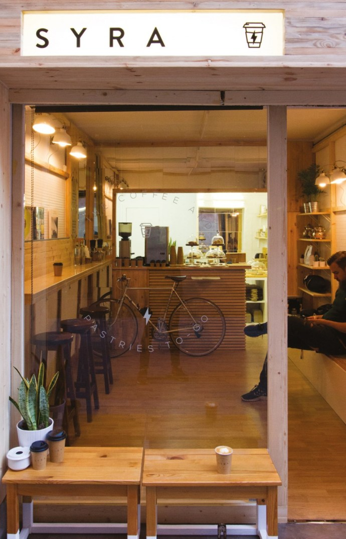 Best coffee shop design - Syra Coffee