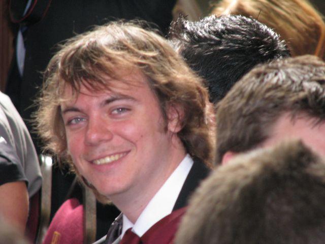 Dave at Graduation