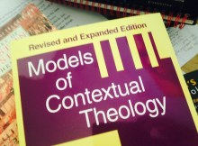 Books I Have Read: Models of Contextual Theology