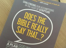 Books I Have Read: Does The Bible Really Say That?