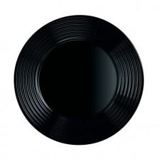 Πιάτο Ρηχό Harena 25cm Μαύρο Luminarc