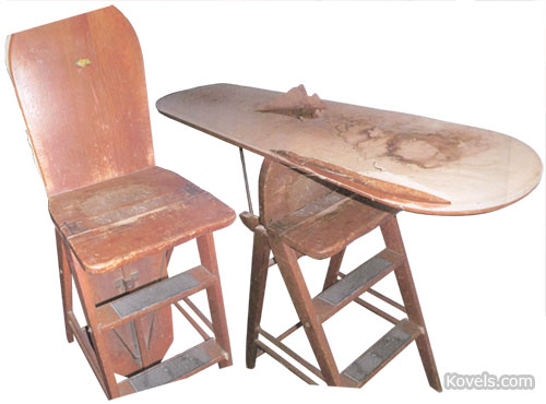 chair step stool ironing board cape cod chairs collectors concerns kovels komments