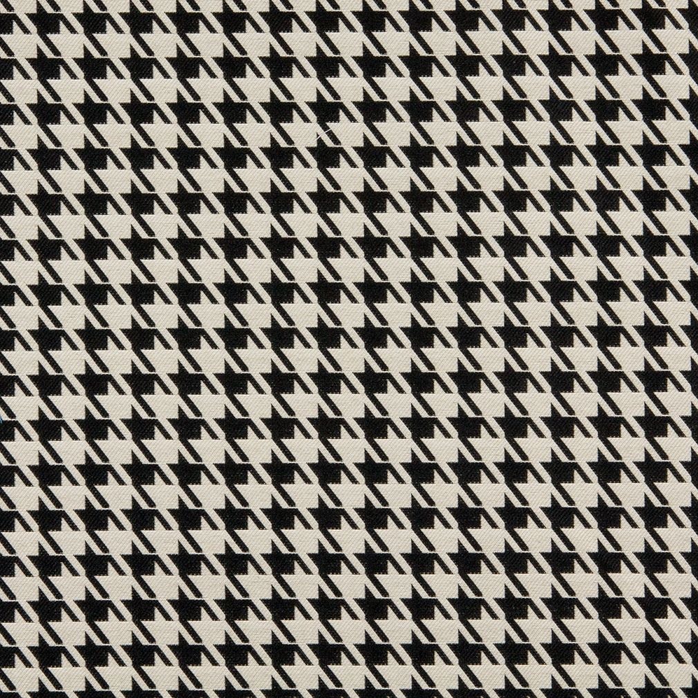houndstooth sofa fabric cleaning dfs covers black and white pattern damask upholstery