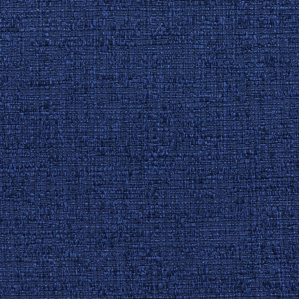 Dark Blue Tweed Textured Damask or Jacquard Upholstery Fabric
