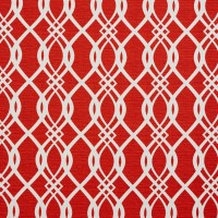 Red Burgundy and White Contemporary Geometric Print ...