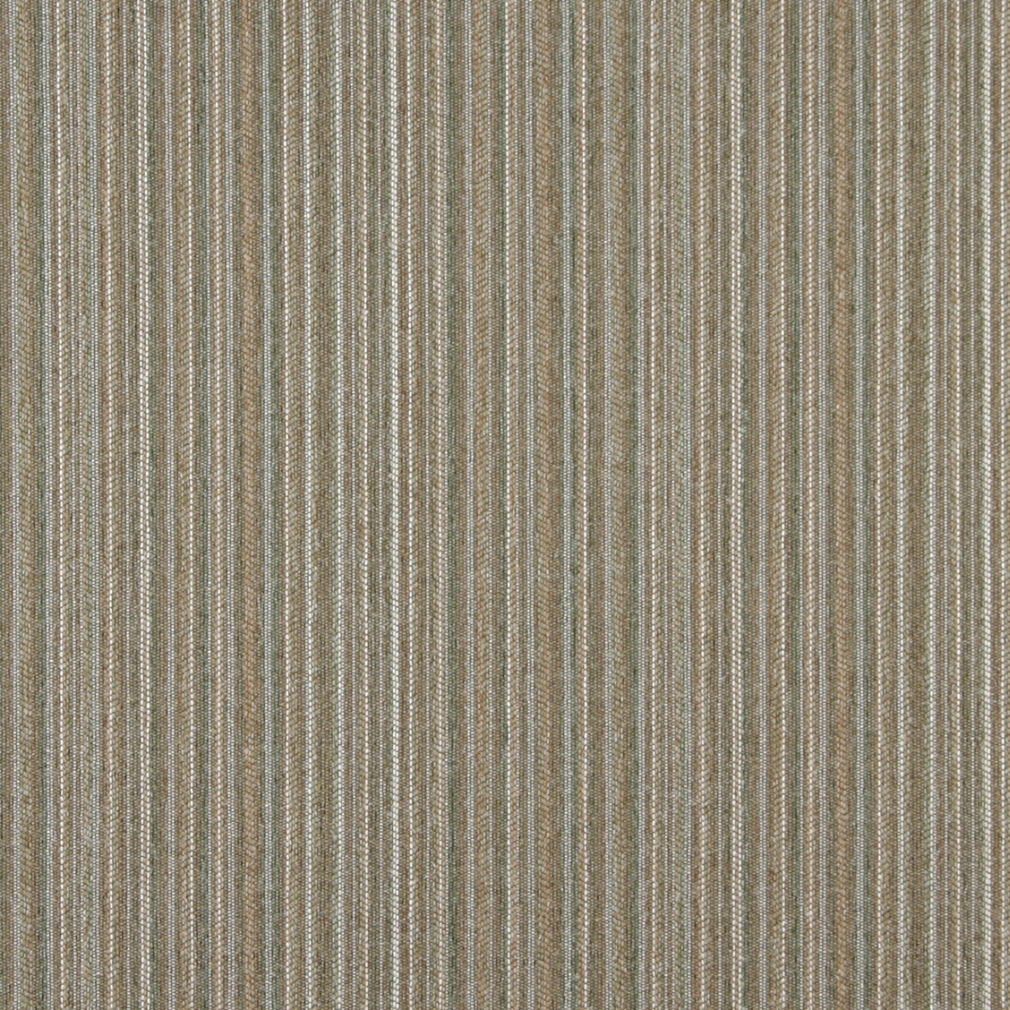 Cactus Beige and Gold Small Scale Stripe Texture Tweed