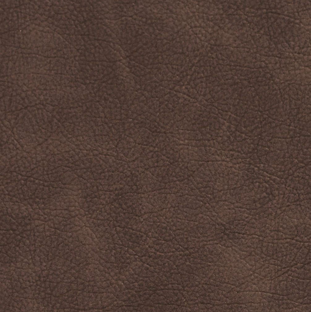 Chocolate Brown Distressed Automotive Animal Hide Texture Vinyl Upholstery Fabric