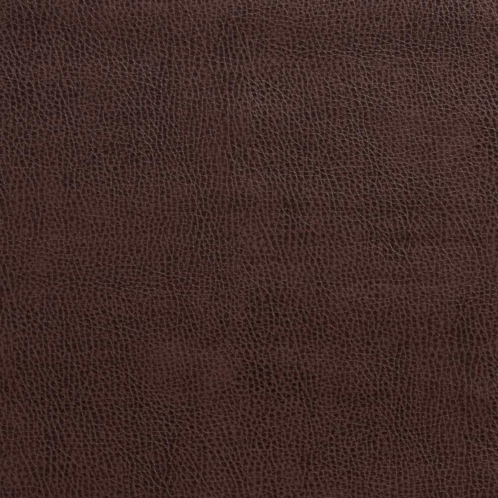 Dark Coffee Brown Animal Hide Texture Plain Recycled Leather Automotive Vinyl Stain Resistant
