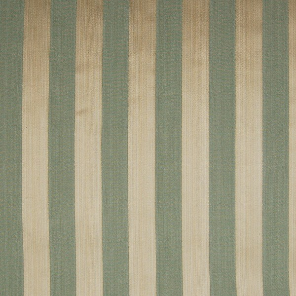 Sage Green Stripe Cotton Upholstery Fabric