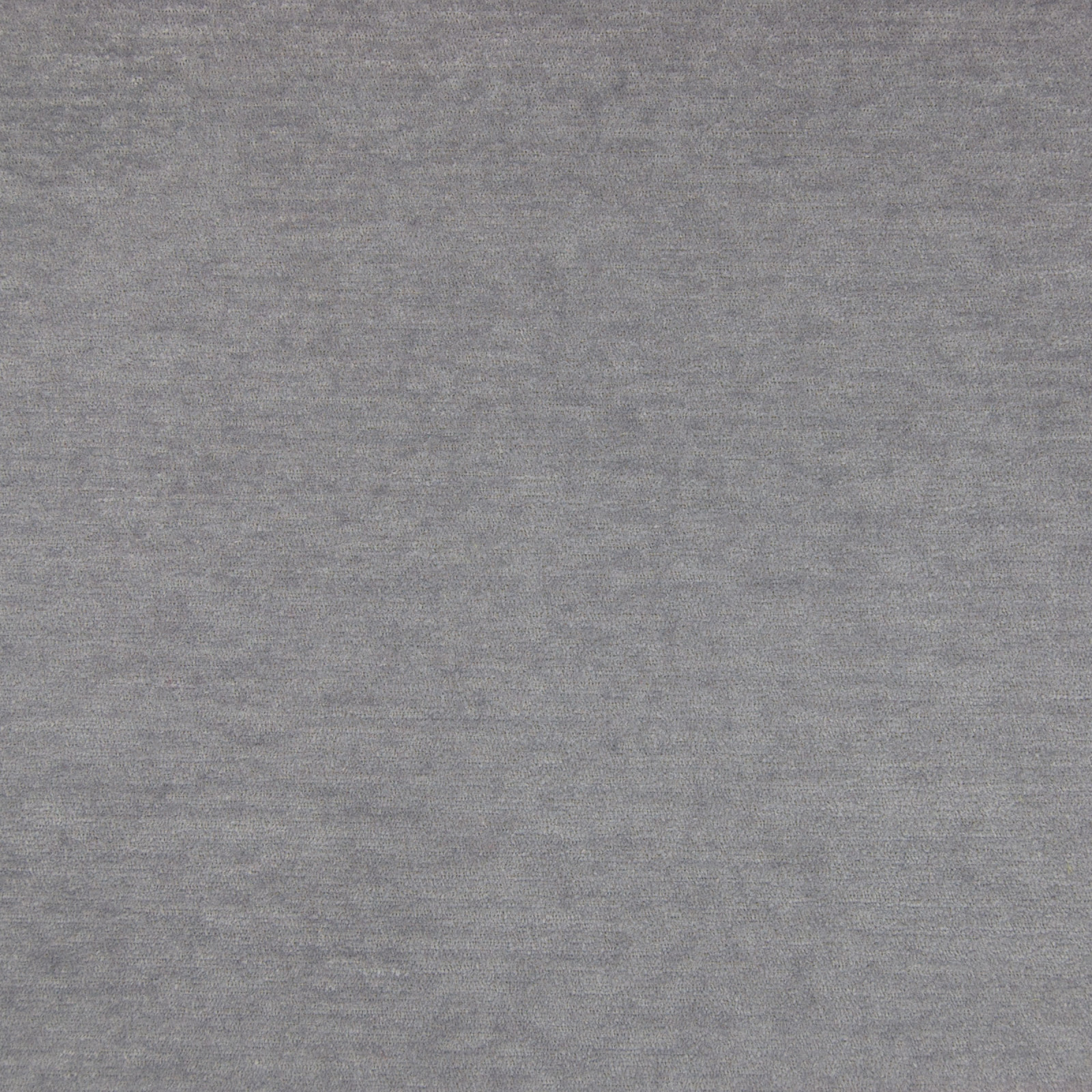 Cool Gray Gray Solid Chenille Upholstery Fabric