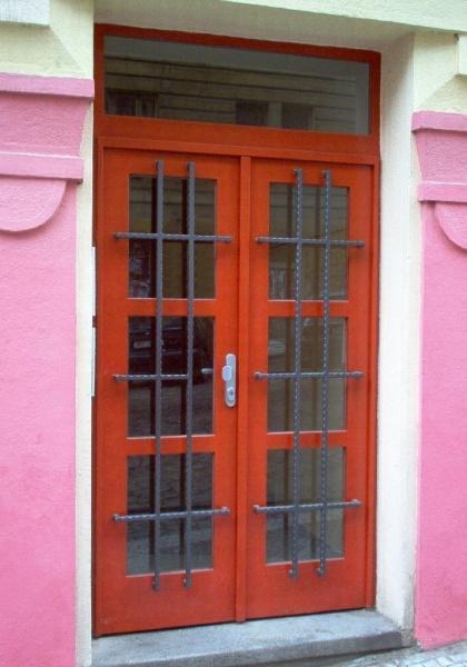 Kovové dvere fotka