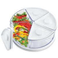Lazy Susan Food Storage Containers - KOVOT