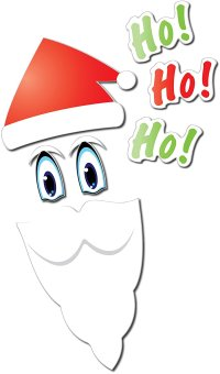 Santa Holiday Fridge Magnet Set - KOVOT