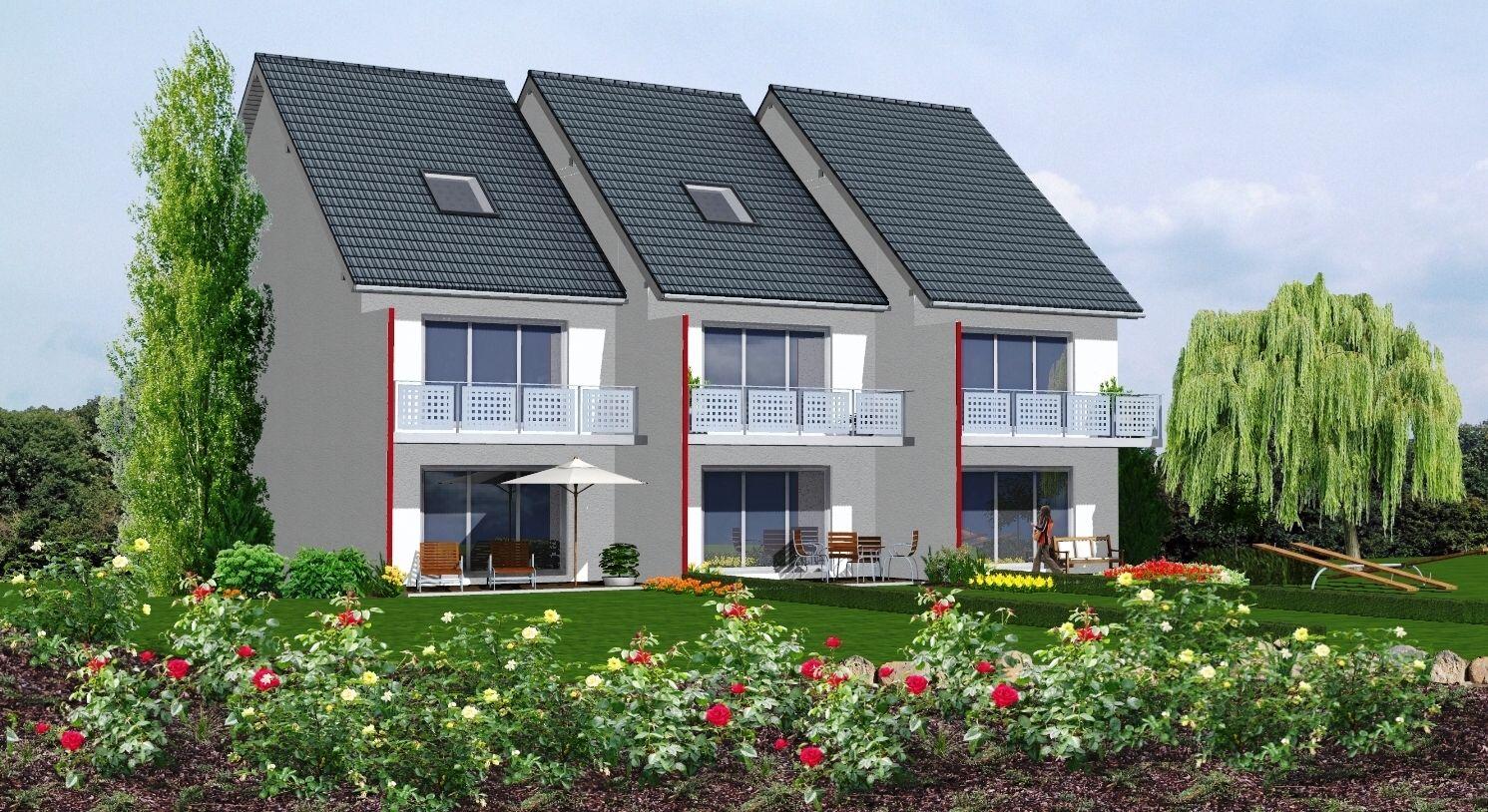 Reihenhaus Oder Einfamilienhaus einfamilien doppel oder reihenhaus ziegelwerk reihenhaus