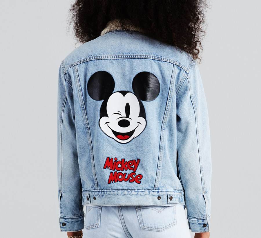Chaqueta Trucker Levis Mickey Mouse