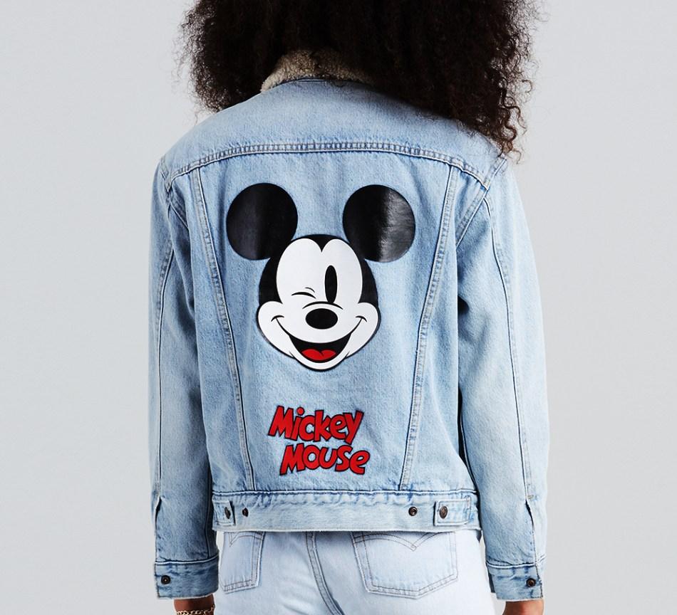 Chaqueta Trucker Levis Mickey Mouse