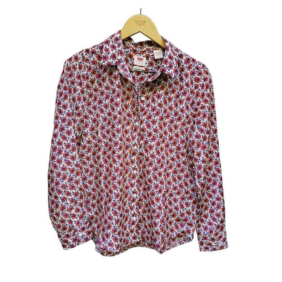 Camisa estampado floral clásica