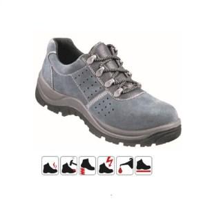 EMS S1 pracovní bezpečnostní obuv z hovězinové kůže - foto 1