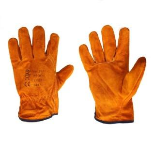 PROFIK celokožené pracovní rukavice z hověziny vel. 10,5 - foto 1