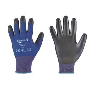 YANTA bezešvé povrstvené ochranné rukavice - PU - foto 1