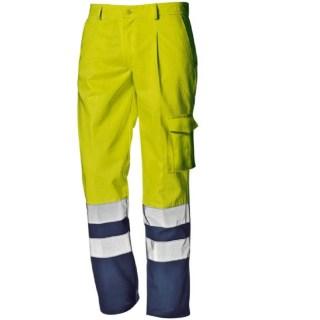 Antistatické nehořlavé kyselinovzdorné montérkové kalhoty SUPERTECH do pasu - foto 1