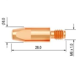 Průvlak-1.2-M6-8-E-Cu-PARKER