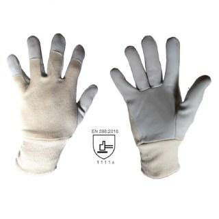 TECHNIK pracovní kombinované rukavice z lícové kozinky - foto 1