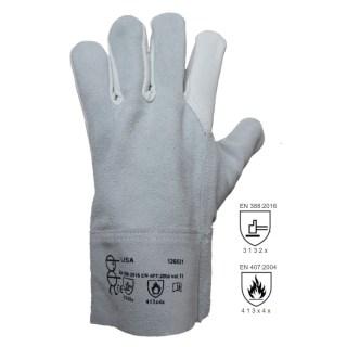LISA celokožené pracovní rukavice z hověziny vel. 11 - foto 1