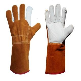 LISAWELD svářečské rukavice velikost 10 z hovězinové štípené usně - foto 1