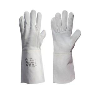 SIMIR svářečské rukavice velikost 10 z hovězinové štípené usně - foto 1