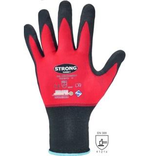 PRECISOR ochranné povrstvené bezešvé pracovní rukavice - foto 1