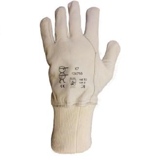 K7 pracovní celokožené rukavice z měkké lícové kozinky - foto 1