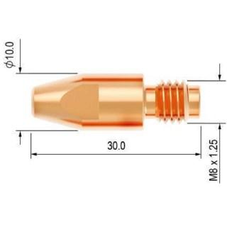 PB4014-09 Průvlak 0.9 M8/10/30 PARKER