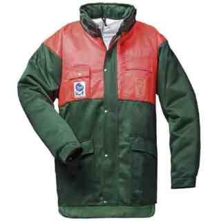 BUCHE protipořezová pracovní bunda z polyamidu a bavlny - foto 1