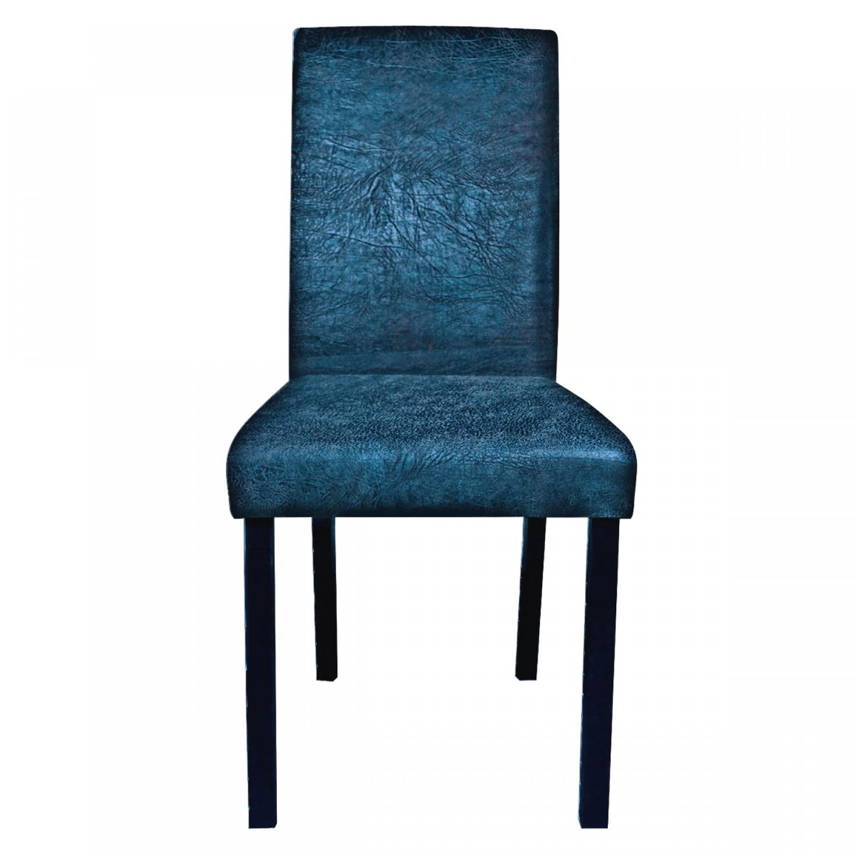 Chaise de salon bleue lot de 2  Koya design