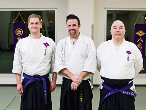 Sensei Matt Pinard promoted to Yondan