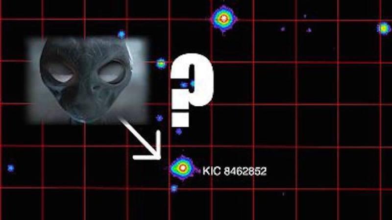Evet en sonunda bu ışık düşmesine neden olan Dyson küresini bizim meşhur uzaylılar yapmıştır düşüncesi ile onların evini gösterdiler. Nedense de hep aynı uzaylıyı koyarlar.