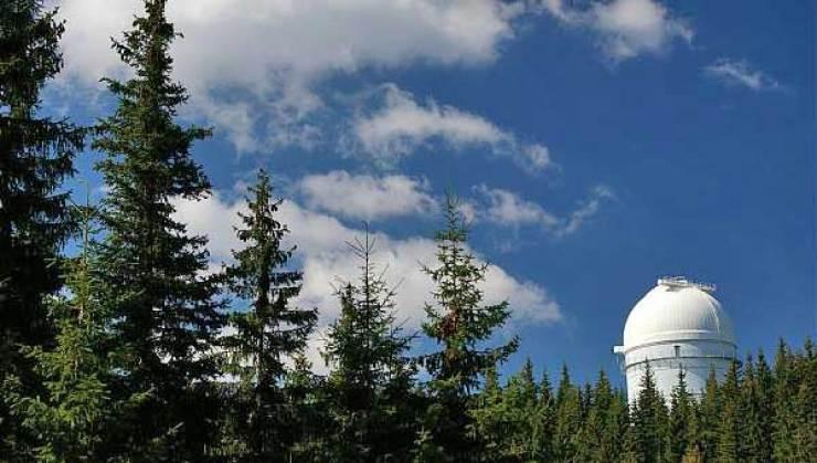 Bulgaristan Rozhen Ulusal Gözlemevi.